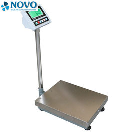 Rectangular Pipe Bench Weighing Scale Stainless Steel ABS Material Powder Coated