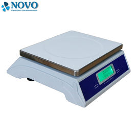 LED Display Digital Weighing Scale Shop Application Plastic Pan SUS Pan