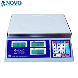 China 285*240mm Digital Computing Scale 5g Division Dust Proof CE Certification factory