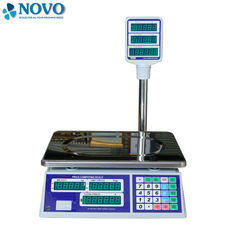 China Grocery Digital Pricing Scale , Portable Digital Scale With Rotary Supporting Arm factory