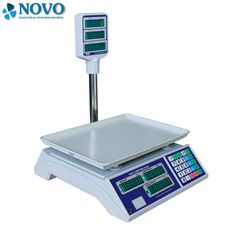 China High Resolution Digital Pricing Scale , Digital Computing Scale External Digital Calibration factory