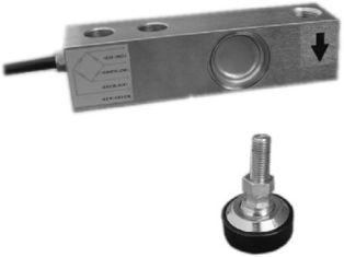 Digital S Shaped Load Cell Aluminum Complete Hermetic Sealing High Accuracy