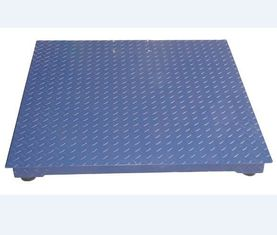 China 1000lb 1 Ton Floor Weighing Scale Bench A12E Platform High Precision Stable Performance factory