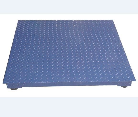 Low Platform Portable Industrial Floor Scales Access Ramps Replaceable Indicator supplier