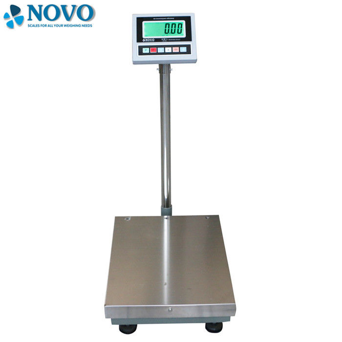 Stainless Steel Bench Weighing Scale Non Slip Adjustable Feet With OMIL