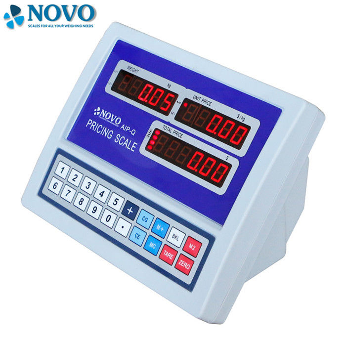 Multi Functional Digital Weight Indicator Has Backlight RS232 Interface supplier