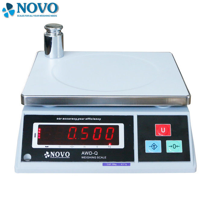 Smart Digital Counting Scale Dust Splash Proof Cover RS232 Interface AWD-F06