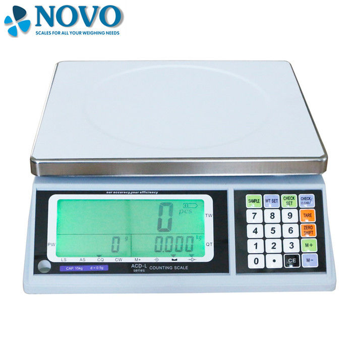 LCD Display digital weighing machine , small electronic weighing machine supplier