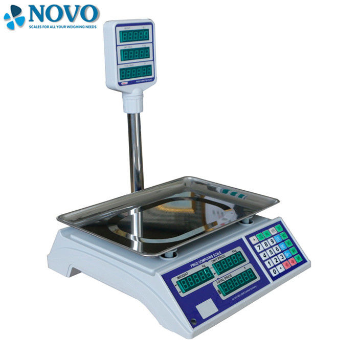 High Accuracy Digital Jewelry Scale , Price Calculating Scale Tube Type 360° Rotary Hanger