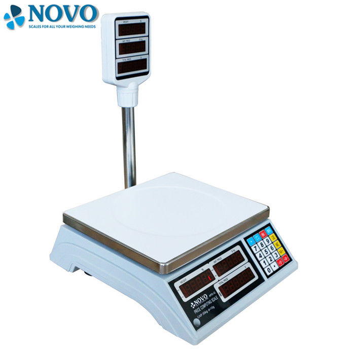 OEM Digital Pricing Scale , Reliable Weighing Scales Long Life Span CE Approval