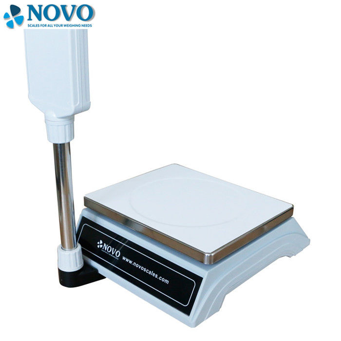 30kg Digital Measuring Scales , Price Calculating Scale 1/7.500 Display Resolution supplier