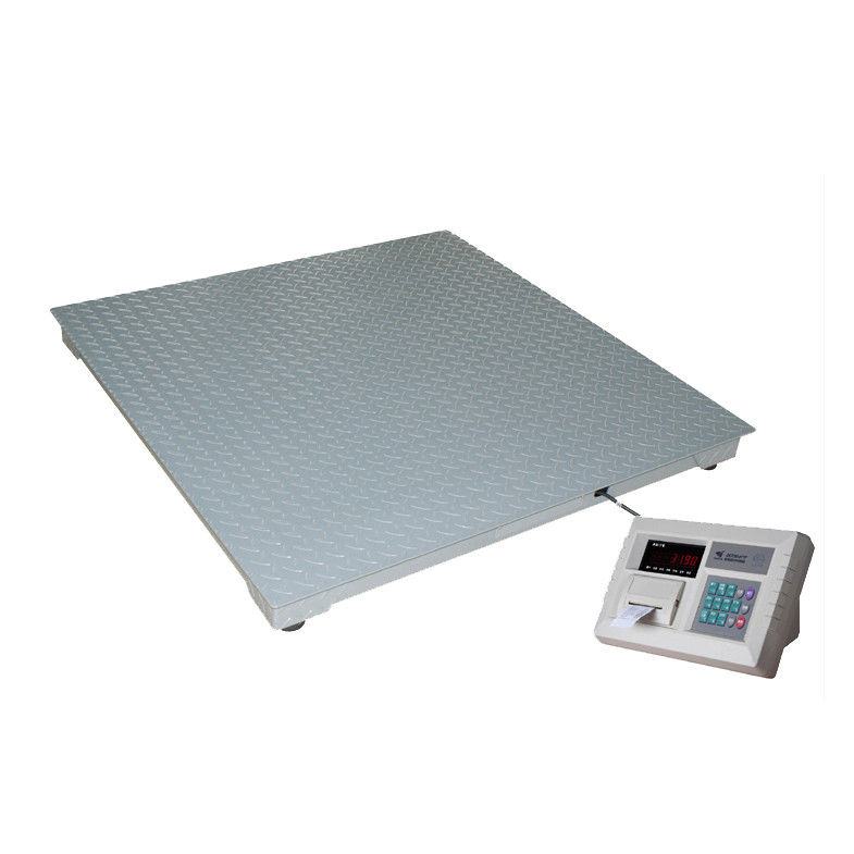 Sandblasting Floor Weight Scale Mild Steel Structure Heacy Duty LED Display