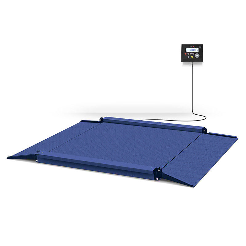 NOVO Floor Weighing Scale , Stainless Steel Floor Scale Industrial Application supplier
